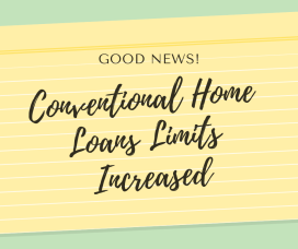 Conventional Home Loan Limits