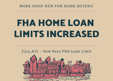 FHA Home Loan Limits - Increased