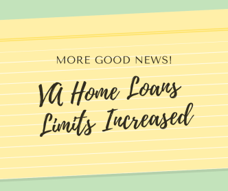 VA Home Loan Limits Increased